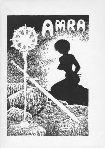 cover from, Amra, a Sixties Sword & Sorcery fanzine