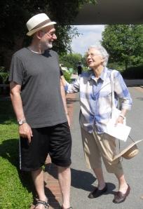 Mom & me, at Chicago Botanic Gardens